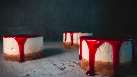 Fit mini cheesecake!