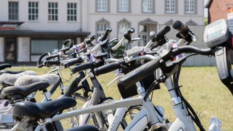 Amerikaanse ambassadeur fietst door Flevoland: