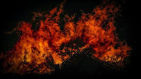 Brand bij zonnepark was lastig te blussen