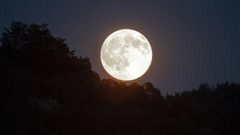 Prachtige beelden van 'Super Moon'